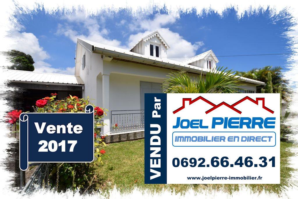 Trop tard c'est déjà VENDU par Joël PIERRE Immobilier : SAINTE MARIE La Ressource Villa F6/7 de 270 m² SU sur une terrain de 660 m²