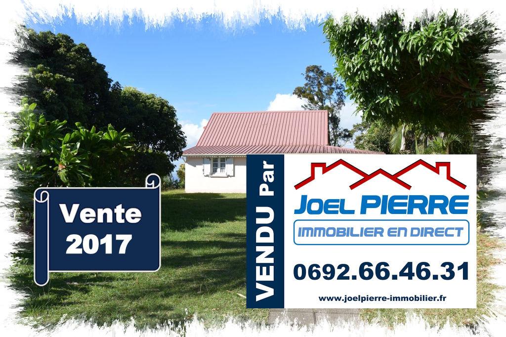 Trop tard c'est déjà VENDU par Joël PIERRE Immobilier :  SAINT FRANCOIS  Villa T6 sur 1258 m² de terrain