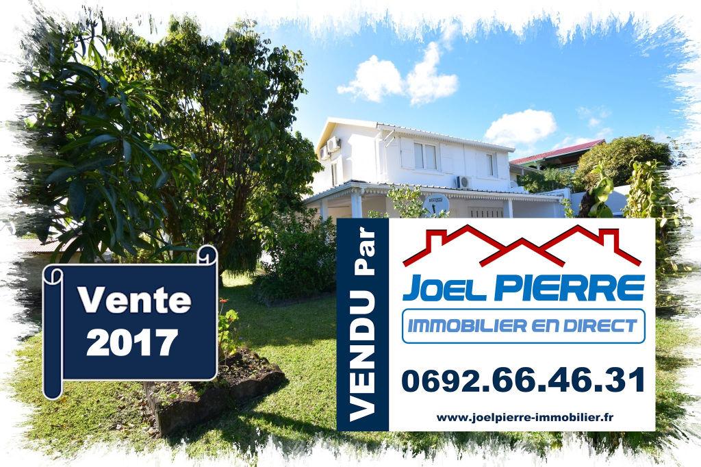 Trop tard c'est déjà VENDU par Joël PIERRE Immobilier : SAINTE MARIE Villa T5 de 178 m² (SU) sur 585 m² de terrain paysagé