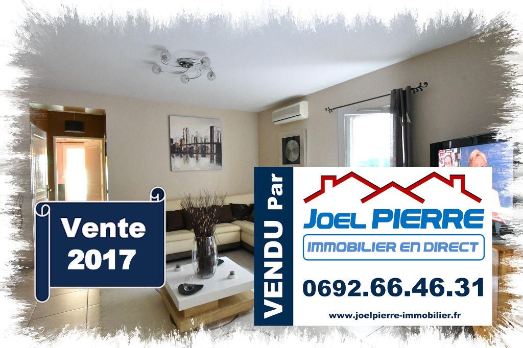 Trop tard c'est déjà VENDU (en 3 visites) par Joël PIERRE Immobilier : SAINT DENIS Appart. T3 de 79 m2 (SU) + 2 jardins privatifs