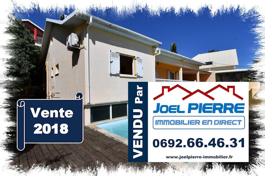 Trop tard c'est déjà VENDU par Joël PIERRE Immobilier : SAINTE CLOTILDE BDN Villa F6 avec piscine et jaccuzi