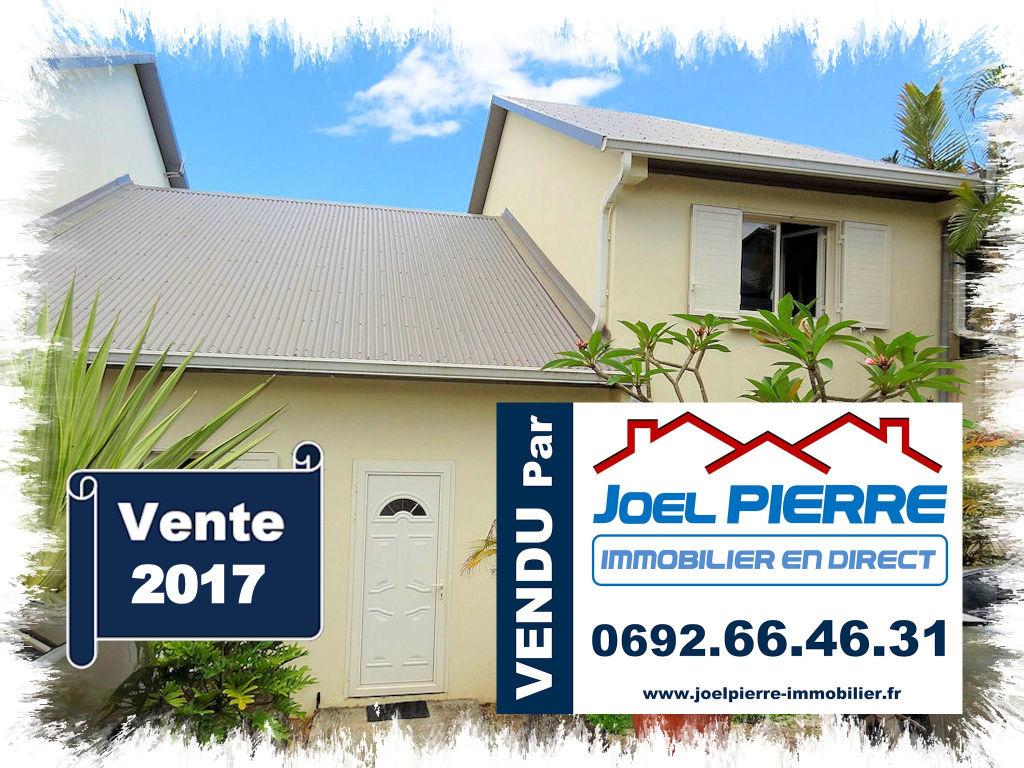 Trop tard c'est déjà VENDU (en 1 mois seulement) par Joël PIERRE Immobilier :  SAINTE MARIE Montée Sano Villa T5 de 188 m² (SU) avec Piscine
