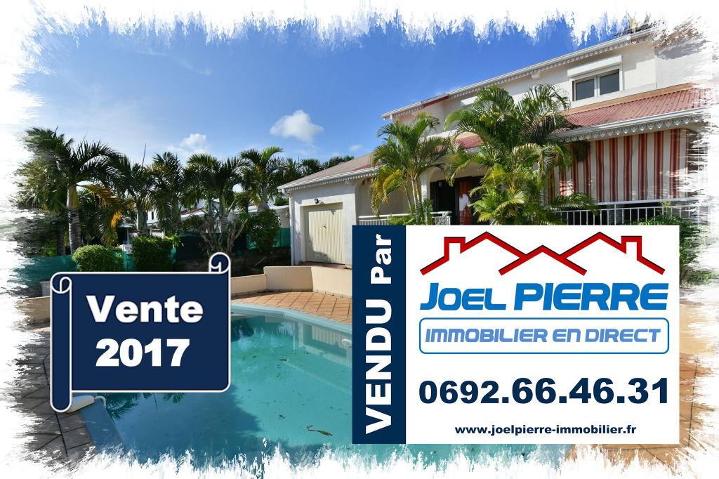 Trop tard c'est déjà VENDU (en 3 visites) par Joël PIERRE Immobilier : SAINTE MARIE La Convenance Villa T5 avec Piscine