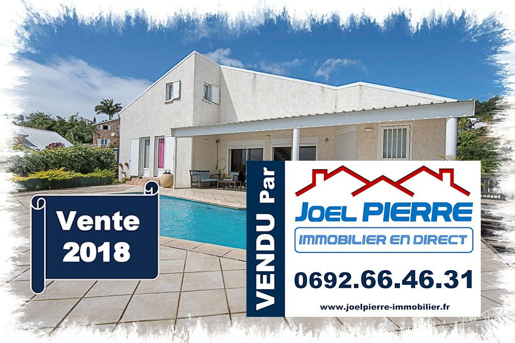 Trop tard c'est déjà VENDU (en 1 jour seulement) par Joël PIERRE Immobilier :  LA MONTAGNE Villa d'architecte de 190 m² (SU) avec Piscine