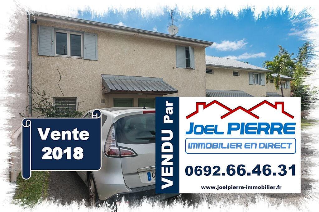 Trop tard c'est déjà VENDU (en 1 mois) par Joël PIERRE Immobilier : SAINTE CLOTILDE BDN Villa T3 Duplex avec jardin