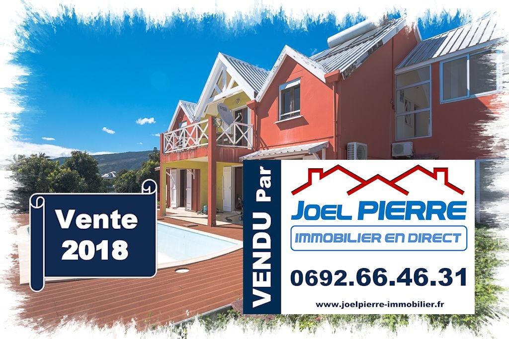 Trop tard c'est déjà VENDU (en 3 mois) par Joël PIERRE Immobilier : JPI - SAINTE CLOTILDE Villa T5/6 de 242 m² (SU) sur 628 m² de terrain