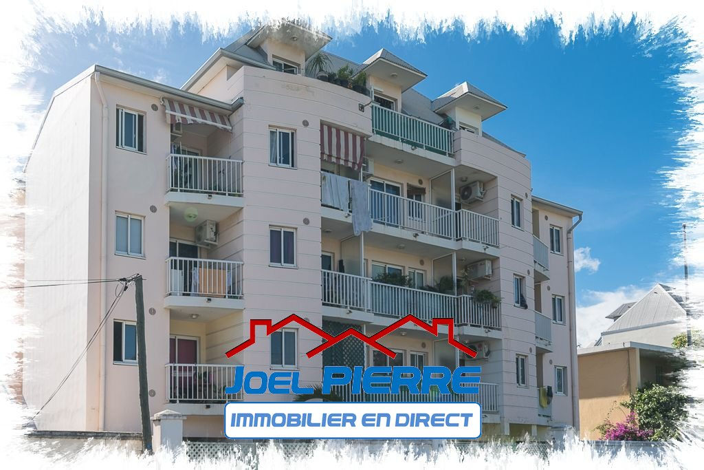 JPI : SAINT DENIS Centre Appartement T1 22.24m2 (SU) Balcon et vue mer