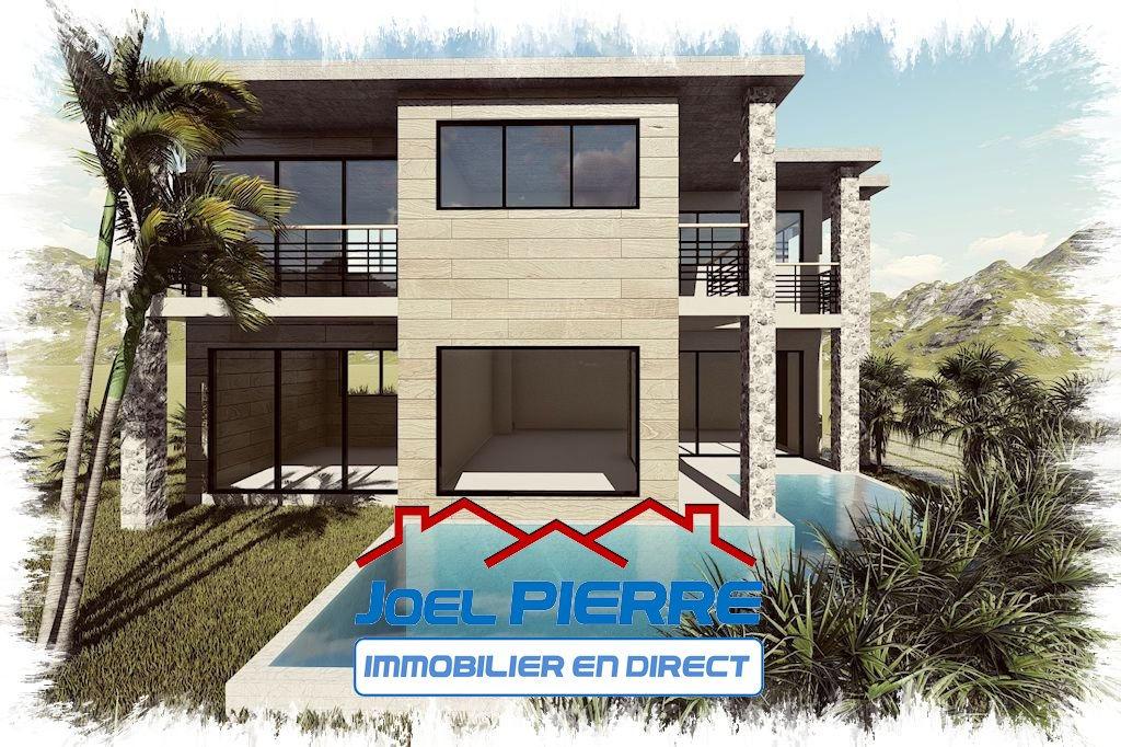 SAINT DENIS : Villa T5 NEUVE d'une surface utile de 191 m² avec piscine sur une parcelle de 414 m²