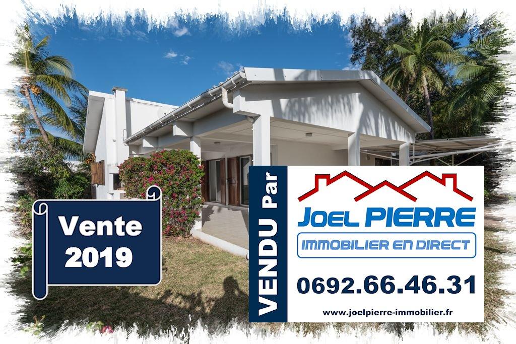 Trop tard c'est déjà VENDU (en un mois) par Joël PIERRE Immobilier : SAINT DENIS Maison plain-pied de 113 m² sur parcelle de 813 m²