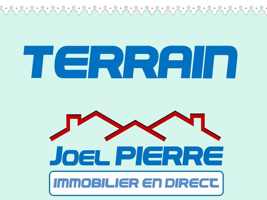 JPI : SAINTE CLOTILDE Terrain Sainte Clotilde 1392 m2 en Zone Ui