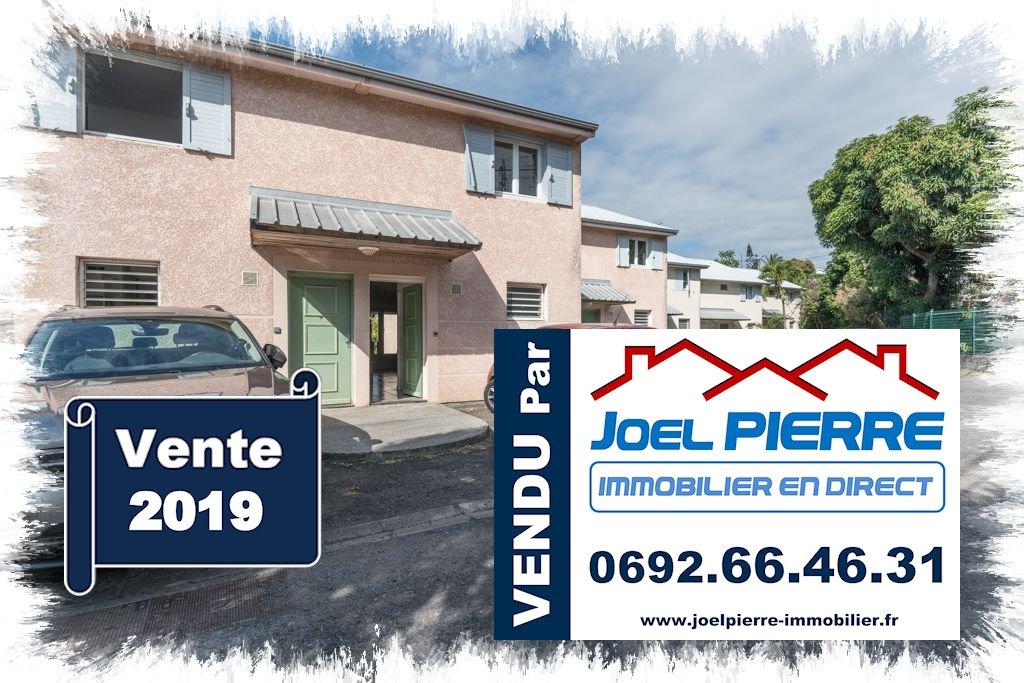 Trop tard c'est déjà VENDU (en moins de 2 semaines) par Joël PIERRE Immobilier : SAINTE CLOTILDE BDN Villa T3 Duplex avec jardin
