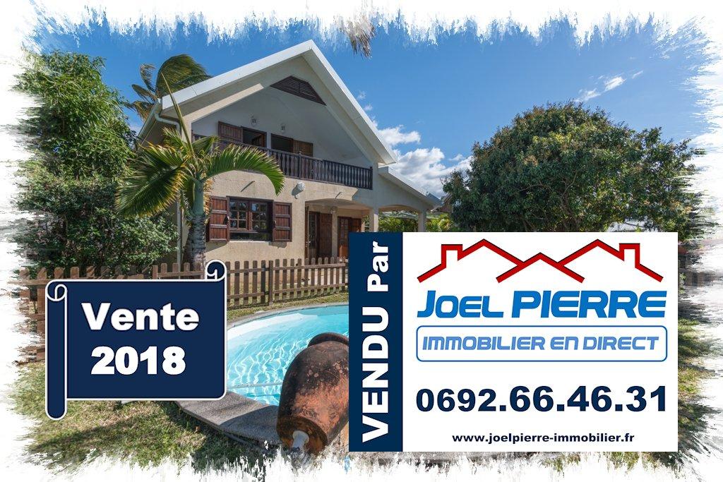 Trop tard c'est déjà VENDU (en une semaine) par Joël PIERRE Immobilier :  EXCLUSIVITÉ à SAINTE MARIE : Villa T4 de 108 m² (SU) avec piscine