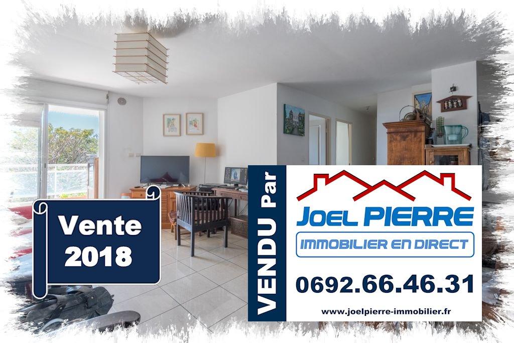 Trop tard c'est déjà VENDU (en 3 jours) par Joël PIERRE Immobilier : SAINTE CLOTILDE Appartement T4 d'une surface utile de de 82 m² avec 1 PK Sous-sol