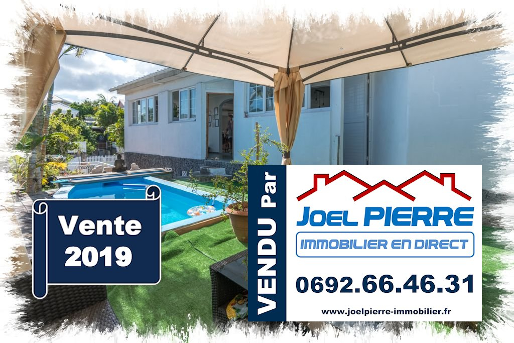 JPI : SAINTE MARIE Grande villa familiale de 313 m² utiles sur 483 m² de terrain