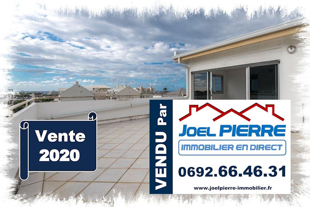 JPI : SAINT DENIS Appartements T3 + T2 en duplex avec terrasse de 43 m² vue panoramique