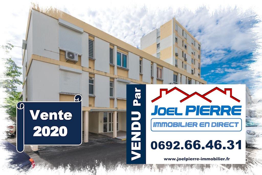Trop tard c'est déjà VENDU (en 3 jours seulement...) par Joël PIERRE Immobilier : SAINT DENIS Appartement T3 de 64,25 m² (SU) avec cave et parking