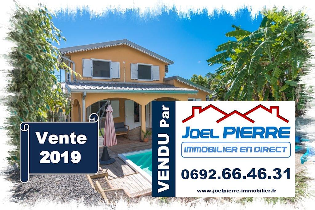EXCLUSIVITÉ JPI : SAINTE CLOTILDE Villa T4 de 115 m² (SU) avec piscine sur 413 m² de terrain
