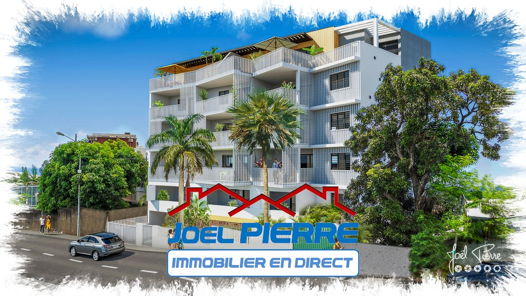 JPI : SAINTE CLOTILDE Proche Clinique Appartements T2 de 60.65 m² (SU) Défiscalisable Loi Pinel