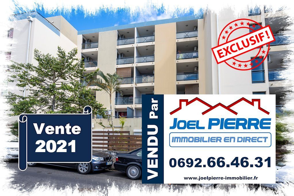 EXCLUSIVITÉ JPI : SAINTE CLOTILDE Appartement T2 de 40.63 m² (SU) + parking sous-sol