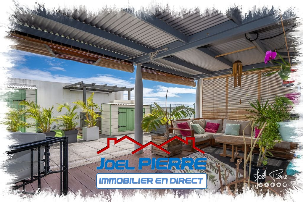 EXCLUSIVITÉ JPI : SAINTE CLOTILDE Appartement T5 de 218 m² (SU) dont  103 m² de terrasses et varangues
