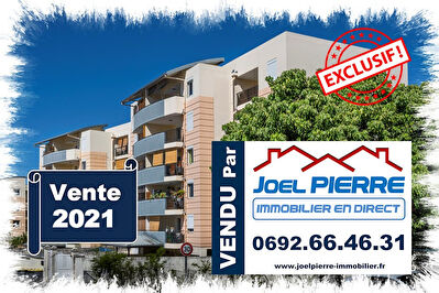 EXCLUSIVITÉ JPI : SAINTE CLOTILDE Appartement T2 de 60 m² (SU) + parking en sous-sol